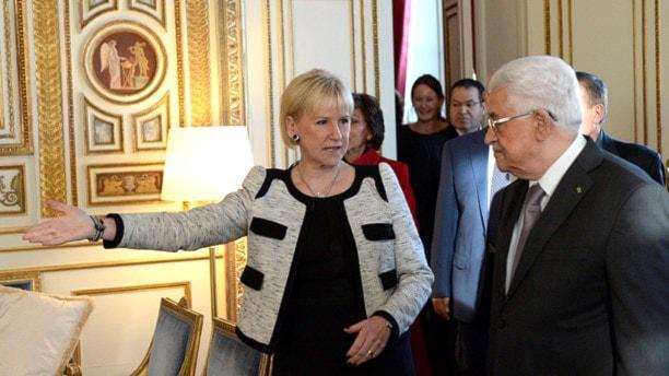 Махмуд Аббас в Стокгольме