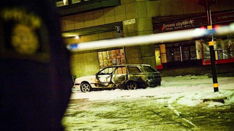 После теракта в Стокгольме в декабре 2010 года. Фото:Foto: Magnus Hjalmarson Neideman/TT
