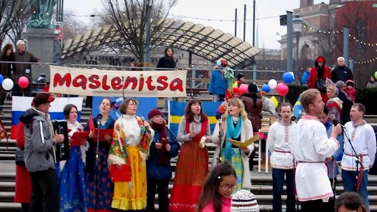 Масленицу в Стокгольме русские отмечают вместе с украинцами и поляками