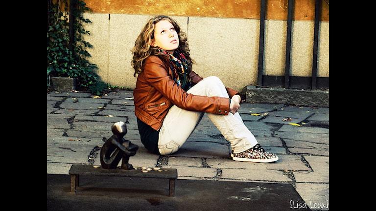 Туристская достопримечательность. В стокгольмском дворике. Фото: flickr.com