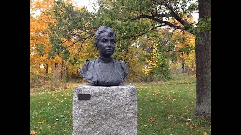 Памятник Софье Ковалевской в Стокгольме