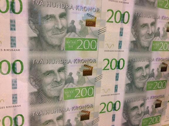 Ингмар Бергман на новой шведской банкноте