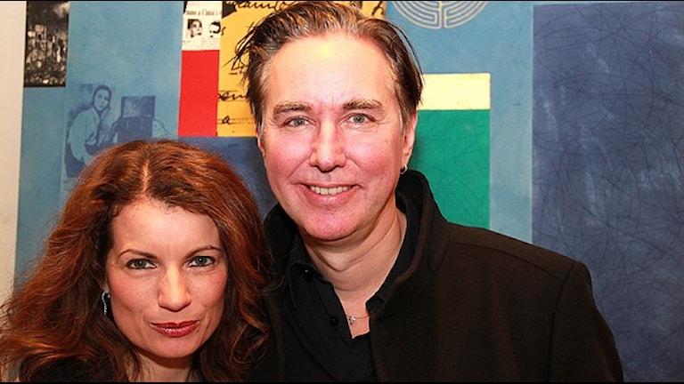 Шведская пара авторов детективов под общим псевдонимом