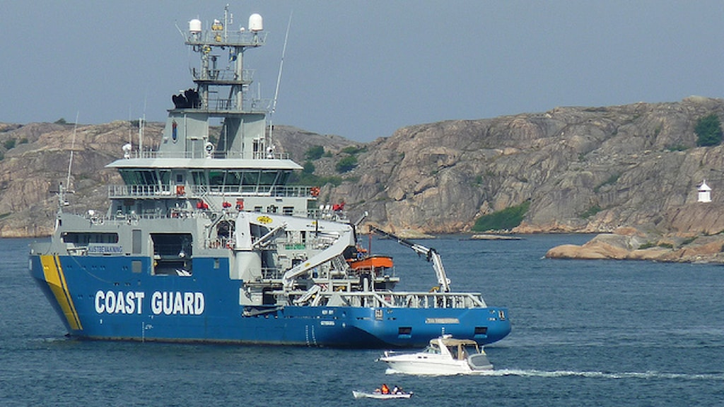 Готовы помочь. Фото: Береговая охрана Швеции