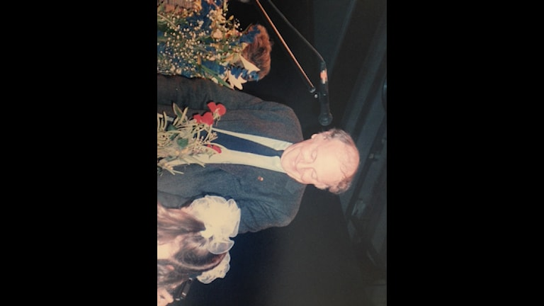 Бродский в Стокгольме 11 дек 1987 года