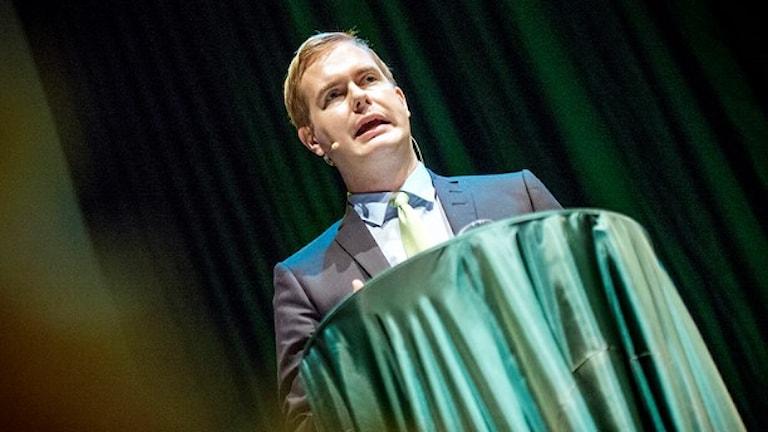 Gustav Fridolin. Foto: TT