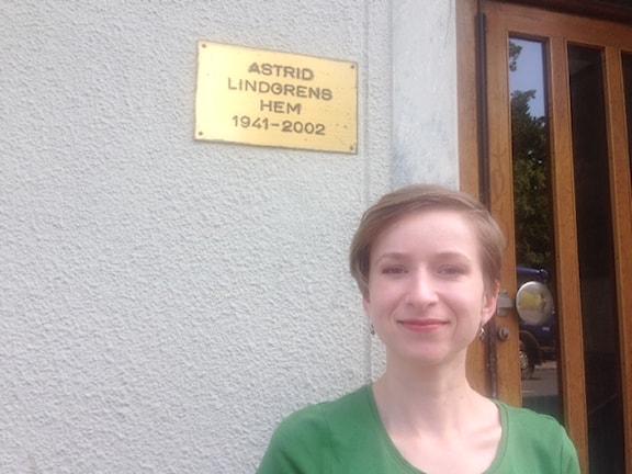 Здесь Астрид Линдгрен прожила более 60 лет
