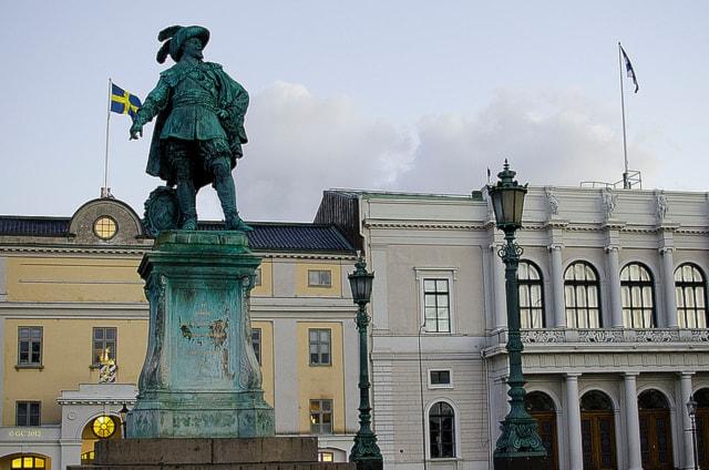 Густав II Адольф - основатель Гётеборга