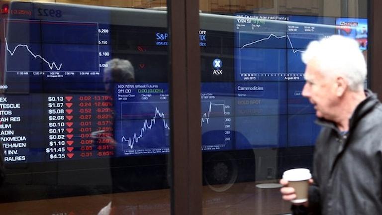 Падение Стокгольмской биржи