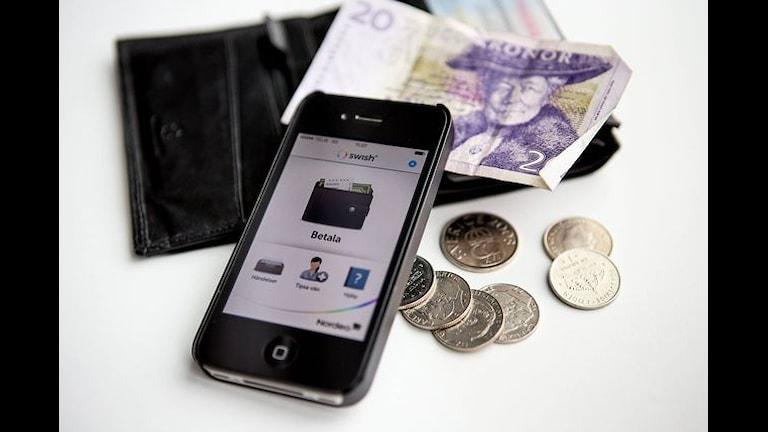 Платежная система для смартфона Swish. Фото:Qet Qet/Flickr