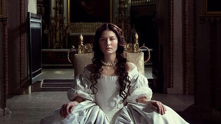 Малин Буска в роли королевы Кристины. Фото: anagram