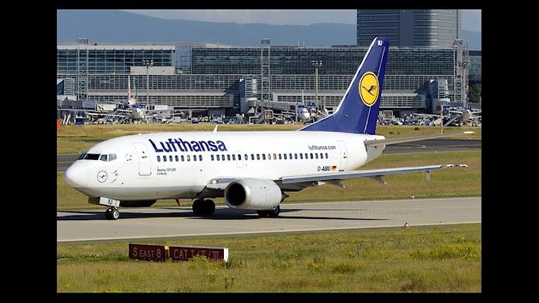 Забастовка Люфтганзы коснулась тысяч шведов