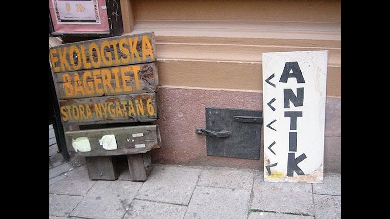 В экопекарню и антиквариат. Фото:  hi tricia!/flickr.com
