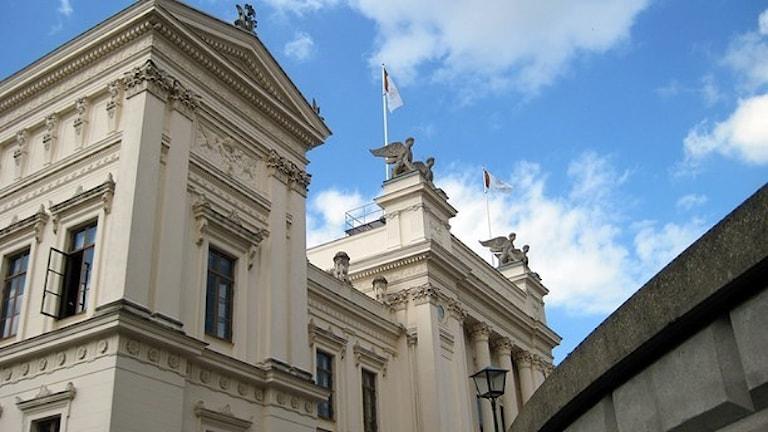 Университет Лунда закрыт из-за угрозы