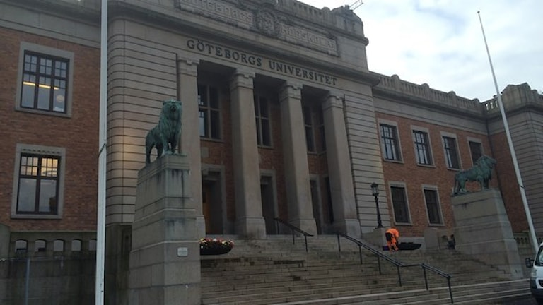 Гётеборгский университет. Фото: Carina Holmberg/SR