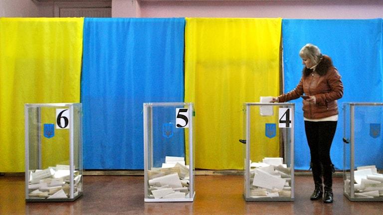 Региональные выборы в Украине, по оценке шведского наблюдателя в Одессе, прошли с нарушениями. Фото: личное