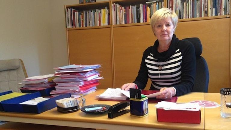 Ингалиль Перссон, член совета ландстинга Даларна. Фото: Anna Lindgren/ Sveriges Radio.