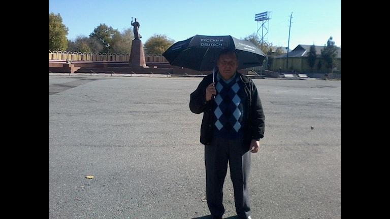 Зонтик Радио Швеция в Таджикистане
