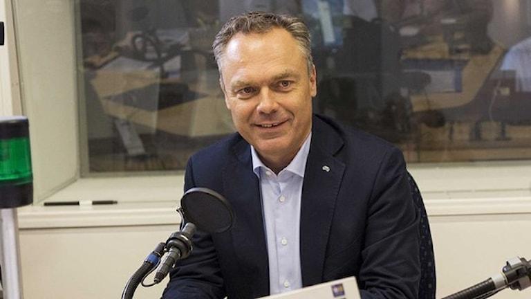 Ян Бьёрклунд. Фото: Mattias Ahlm/Sveriges Radio