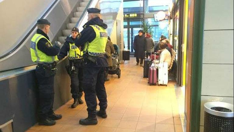 В четверг на вокзале Вестероса. Фото: SVT