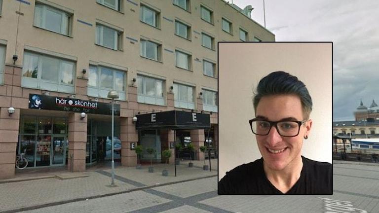 Отель Марина Плаза и Юаким Бюлёв. Фото: Гугл/Личное