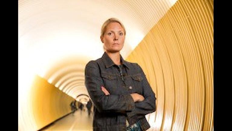 Хелена Сунден - директор Института по борьбе с коррупцией и взятками. Фото: Ulf Berglund