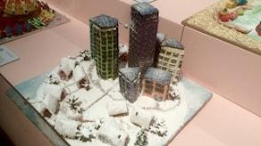 Соревнование на лучший пряничный домик в Швеции