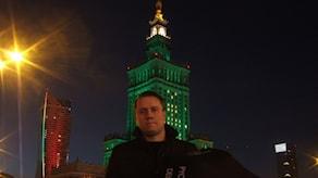 Зонтик Радио Швеция в Варшаве