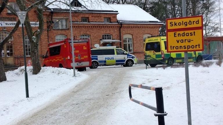 Угроза бомбы школе в Стокгольме