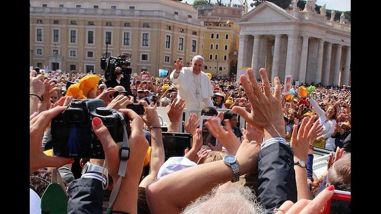 Папа Римский Франциск. Фото: Thomas Wikström/flickr.com