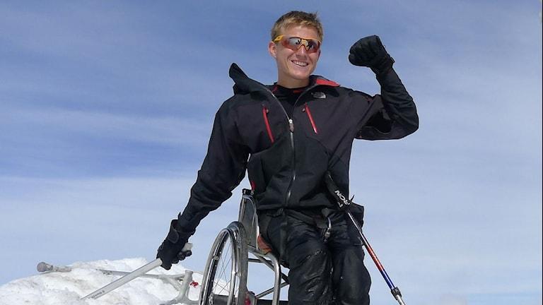 Арон Андерссон (снимок обрезан). Фото: Арон Андерссон