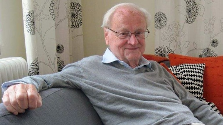 Арвид Карлссон/Arvid Carlsson, лауреат Нобелевской премии 2000 года. Фото: Epp AnderssonSveriges Radio