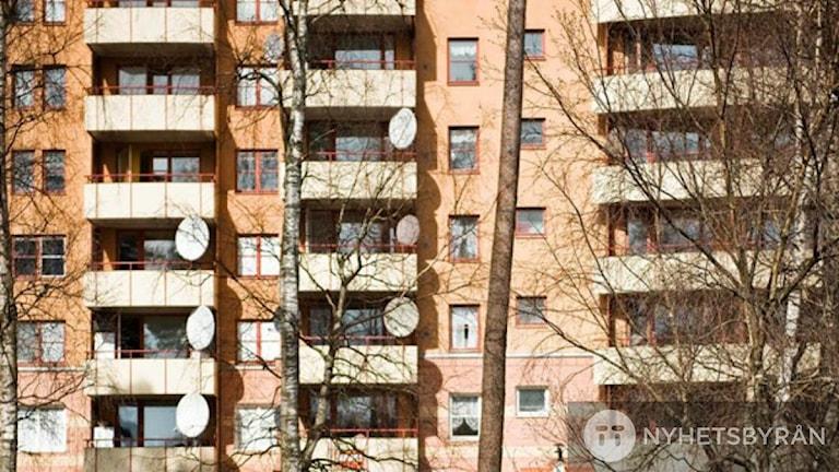 Черный рынок жилья в Сёдертелье организован?