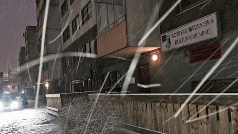 Центр турецкой культуры Бутчюрки. Фото: Anders Ohlsson/Sveriges Radio