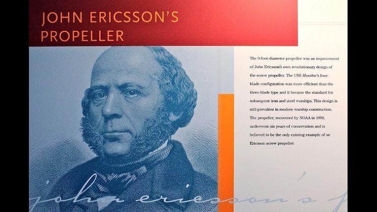Шведский изобретатель Эрикссон