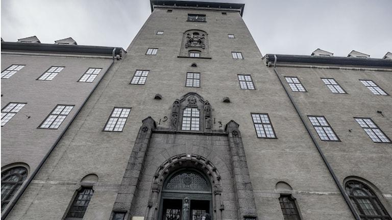 Стокгольмский городской суд. Фото: Magnus Hjalmarson Neideman/ SvD/TT