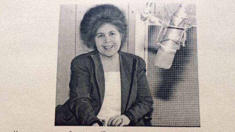 Тамара Юханссон - звезда русской редакции Радио Швеция