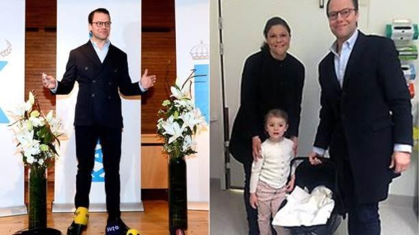 Маленький принц в шведской королевской семье