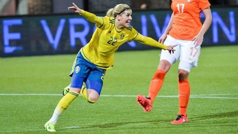 Шведские футболистки будут играть на олимпиаде