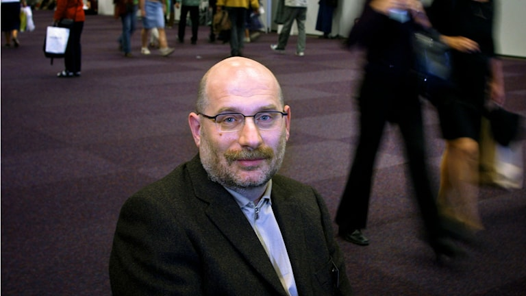 Б. Акунин в Гетеборге. 2002 г.