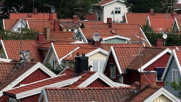 Шведские дома растут в цене