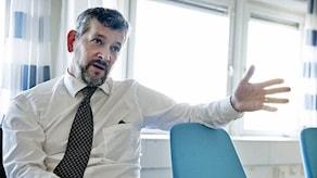 Генеральный директор Нильс Эберг. Фото: Lars Pehrson/SvD/TT