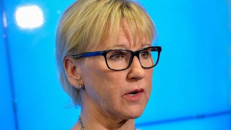 Wasiiradda arrimaha dibadda Margot Wallström .Sawirkii : TT