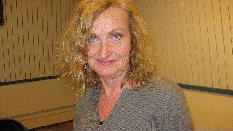 Lisbeth Johansson. Foto: Susanne Nobel/P4 Väst