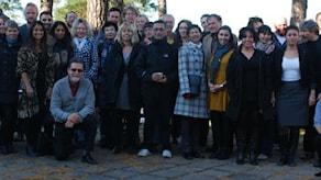 Das Team der fremdsprachigen Redaktionen des Schwedischen Rundfunks, zu dem auch die Mitarbeiter der deutschsprachigen Redaktion, Radio Schweden, gehören. (Foto: Nasser Sina/SR International)