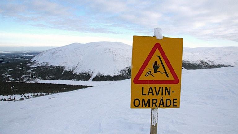 In den beliebten schwedischen Skigebieten Åre und Riksgränsen herrscht erhöhte Lawinengefahr (Foto: Mats Lennartson/Scanpix Schweden)