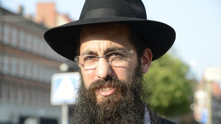 Rabbi Shneur Kesselman (Foto: Anna K Eriksson / TT)