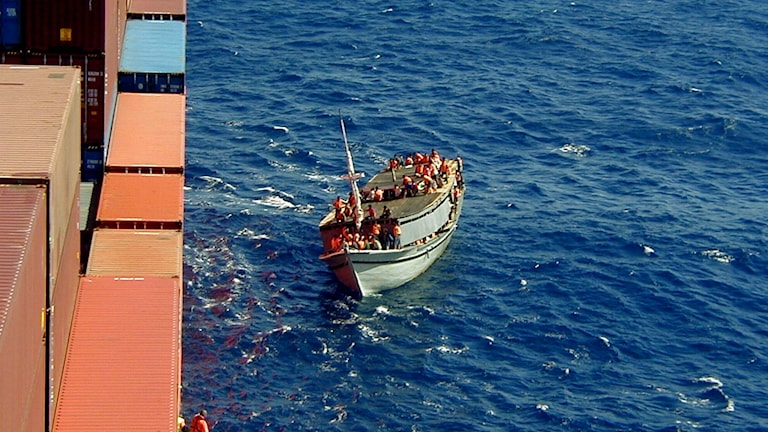 Bootsflüchtlinge (Foto: Tampa / Wilhelmsen Group)