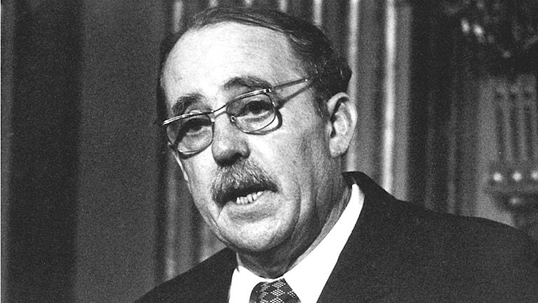 Heinrich Böll wurde 1972 in Stockholm mit dem Nobelpreis in Literatur ausgezeichnet (Foto: TT Archiv)