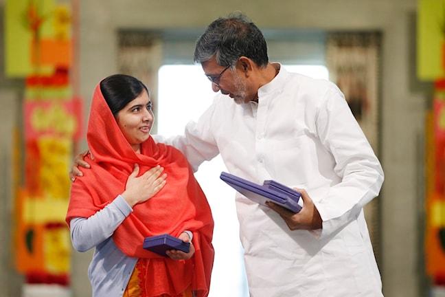Malala Yousafzai und Kailash Satyarthi (Foto: TT)